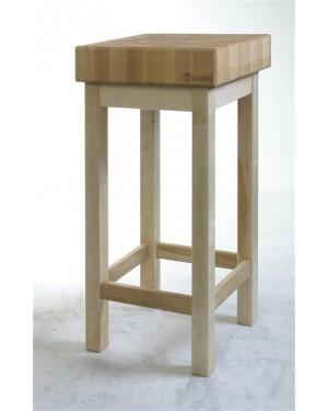 Kloc masarski - drewniany, na podstawie drewnianej 400 x 500 x 200 mm