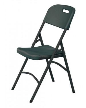 Krzesło cateringowe - czarne wymiar 540x440x(h)840 mm