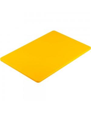 Deska do krojenia 450x300 mm żółta