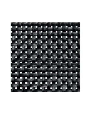 APS podkładka pod talerze 45x33cm czarny