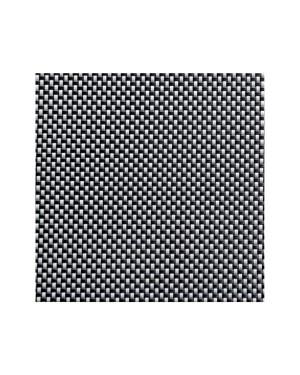 APS podkładka pod talerze 45x33cm biało-czarny