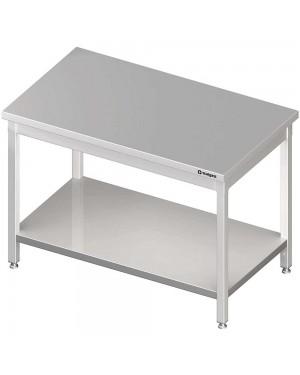 Stół centralny z półką 1300x800x850 mm skręcany