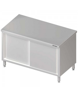 Stół centralny,przelotowy z drzwiami suwanymi 1300x600x850 mm