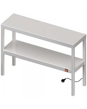 Nadstawka grzewcza na stół podwójna  800x300x700 mm