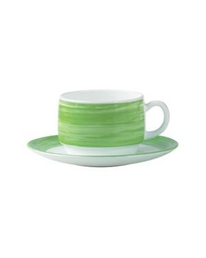 BRUSH Filiżanka zielona 190 ml 12/48