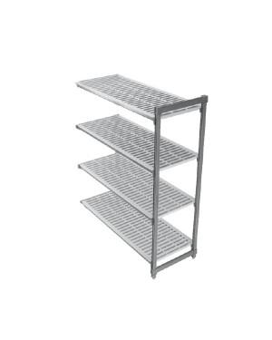 CAMBRO BASIC regał dodatkowy 4 półki 54x138x183cm