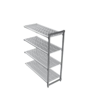 CAMBRO BASIC regał dodatkowy 4 półki 61x107x183cm