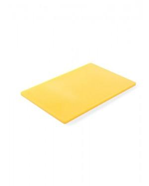 Deska do krojenia HACCP  450x300  żółta do surowego drobiu