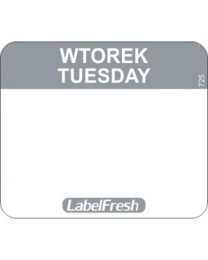 LABELFRESH etykieta EASY wtorek