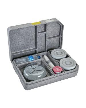 CAMBRO taca termiczna GoBox 37x53x11.8cm talrz dzielony + 2 misk