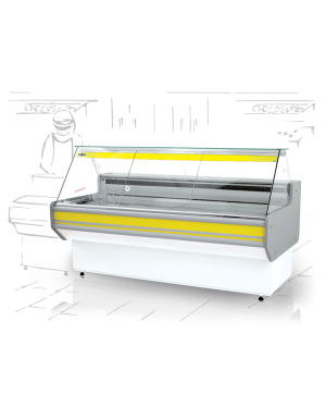 Lada chłodnicza model L-A wym. 1370x820x1220mm