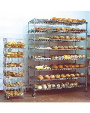 ULTRA POWER Wózek do chleba 8 półek WP-122