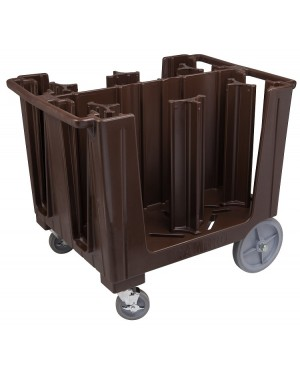 CAMBRO Wózek na około 405szt talerzy ciemnobrązowy