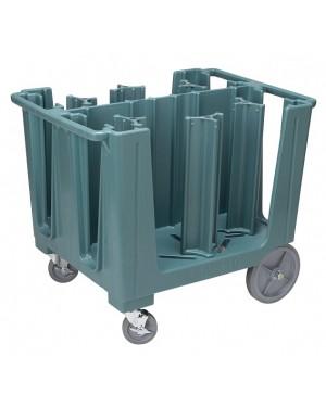CAMBRO Wózek na około 405szt talerzy kolor szaroniebieski
