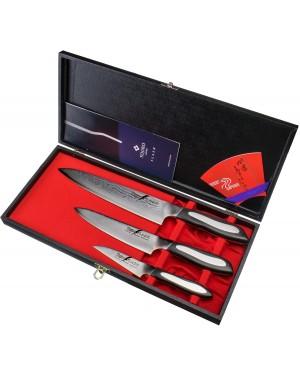 Zestaw 3 noży: FF-PA90+FF-UT150+FF-CH210 Tojiro Flash FF-GIFTSET-B
