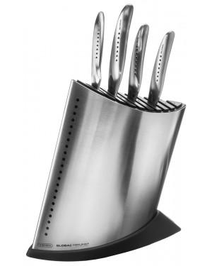 Komplet 4 noży Global SAI w stalowym bloku GKB-52CB SAI4001