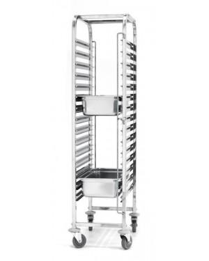 Wózek do transportu pojemników - 15x GN 1/1 - 15 x GN 1/1