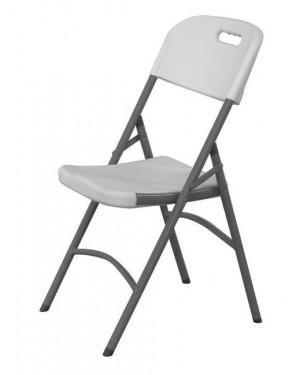 Krzesło cateringowe - białe 540x440x(h)840 mm