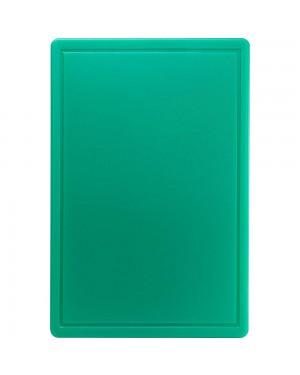 Deska do krojenia 600x400x18 mm zielona