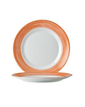 BRUSH Talerz płytki pomarańczowy 235 mm 6/24