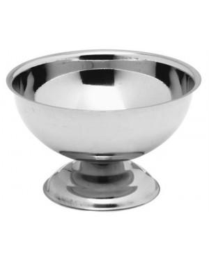 Pucharek stalowy do lodów - śr. 90 mm