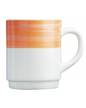BRUSH Kubek pomarańczowy 250 ml 6/36