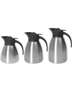 termos stalowy do kawy z przyciskiem - 2 l