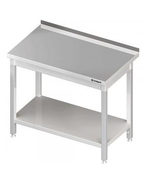 Stół przyścienny z półką 1000x700x850 mm spawany