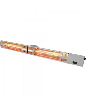 Lampa grzewcza wisząca / ścienna 105 cm ze zdalnym sterowaniem