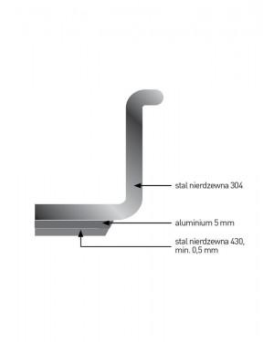 Rondel do smażenia Profi Line bez pokrywki 0,9 l; śr. 160 x 60 h