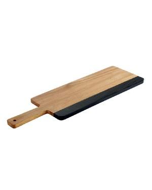 AKACJA deska drewniana z rączką 36.5x15cm