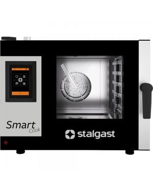 Piec konwekcyjno-parowy, STALGAST SmartCook, dotykowy, 5xGN1/1, P 7.75 kW