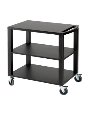 CARELLI wózek 3 półki 88x87x55cm