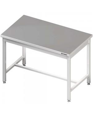 Stół centralny bez półki 1400x700x850 mm skręcany