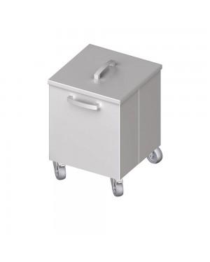 Pojemnik na odpadki jezdny 350x350x500 mm