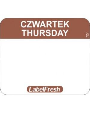 LABELFRESH etykieta EASY czwartek