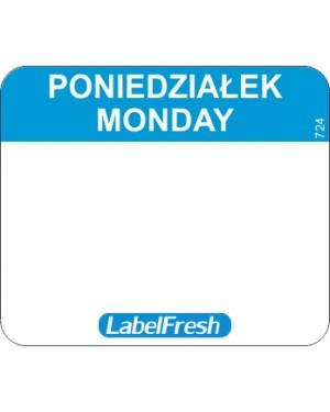 LABELFRESH etykieta EASY poniedziałek