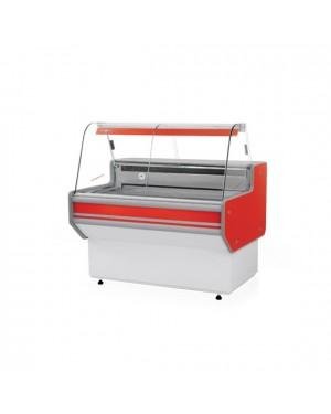 Lada chłodnicza z szybą giętą model LB1 wym. 1370x900x1220mm
