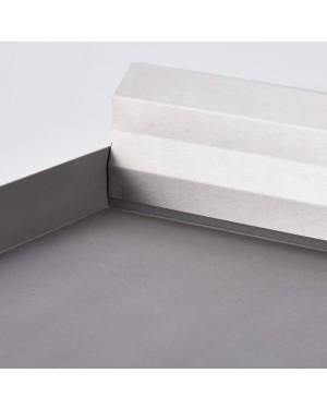 Płyta grillowa nastawna gładko-ryflowana szer. 800 mm