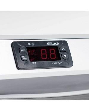 Szafa chłodnicza 620 l, wnętrze z ABS, stal nierdzewna