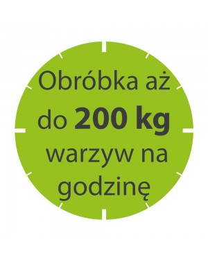 Szatkownica do warzyw CL20 230 V z kompletem 4 tarcz GRATIS