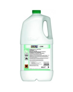 REMIX UNI - płyn do mycia i dezynfekcji  poj. 3 l.