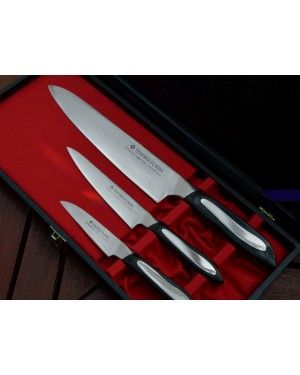 Zestaw 3 noży PA90+PA130+CH210 Tojiro Flash FF-GIFTSET-A