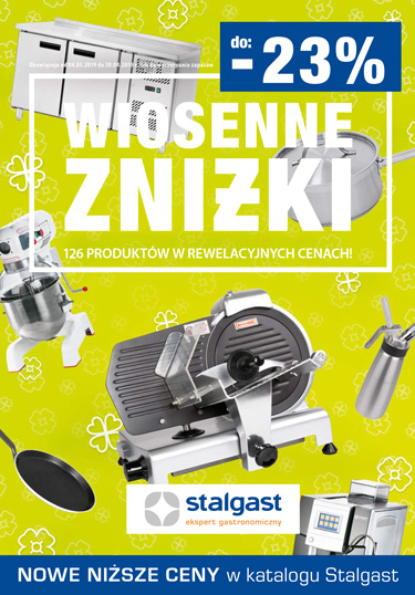Gazetka promocje Stalgast marzec 2019