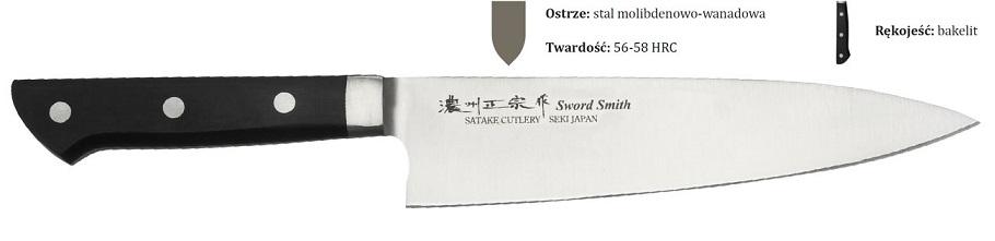 Noże japońskie Satake z serii Satoru